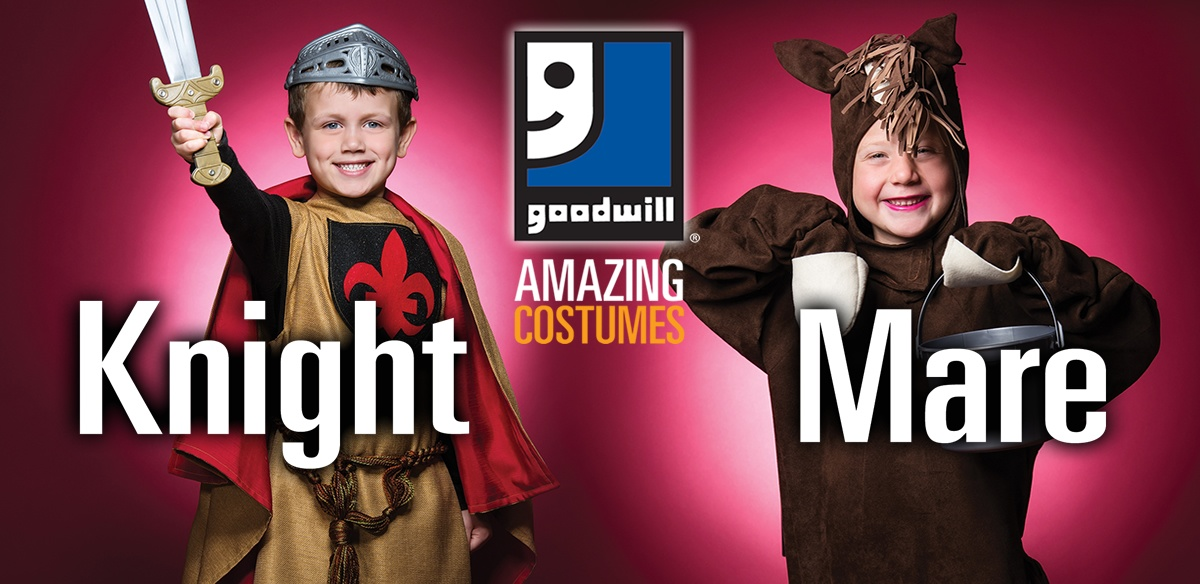 Shop Goodwill for everything Halloween!