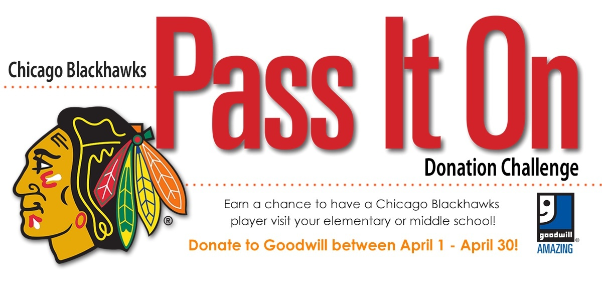 Goodwill's Pass It On Donation Challenge
