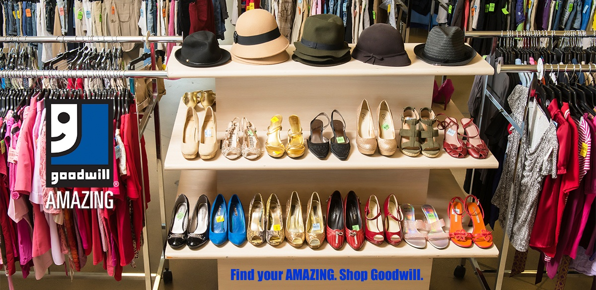 Find your amazing ... Shop Goodwill!